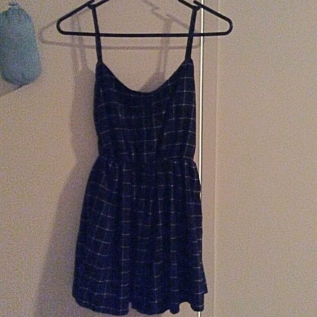 Checkered Flare Dress