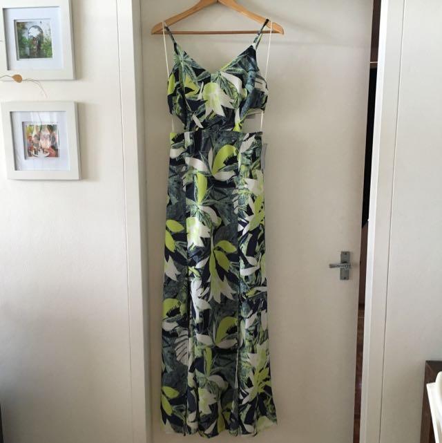 TopShop Tropical Print Dress - NWT