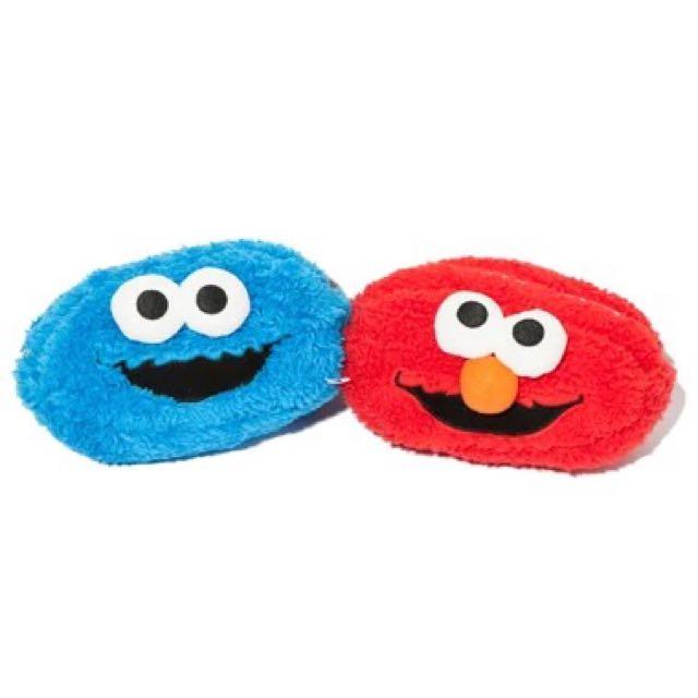 Elmo 雙面筆袋 化妝包