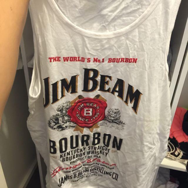 Jim  Beam Bourbon Singlet