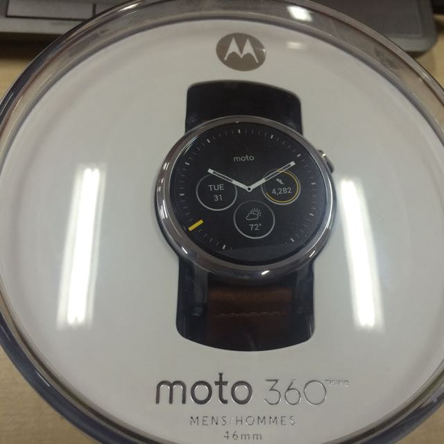 Moto 360 2nd Gen 46mm Smartwatch