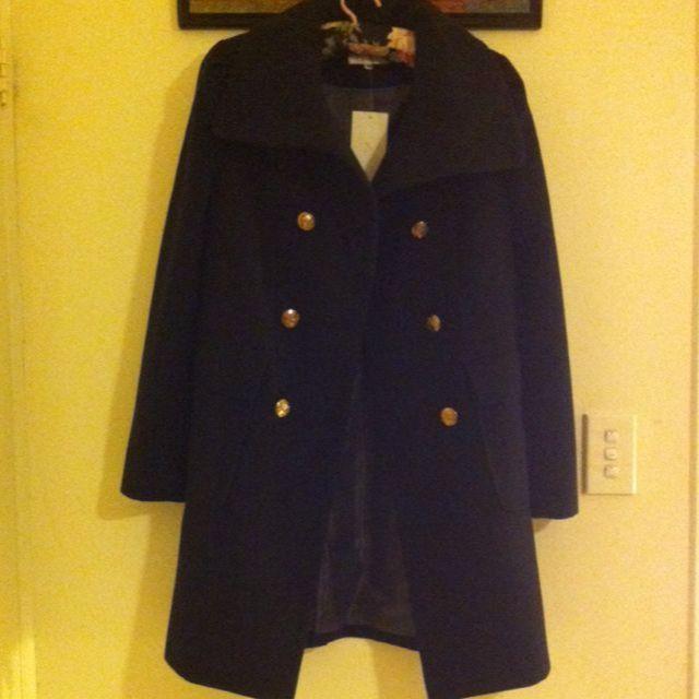 Postie black winter coat