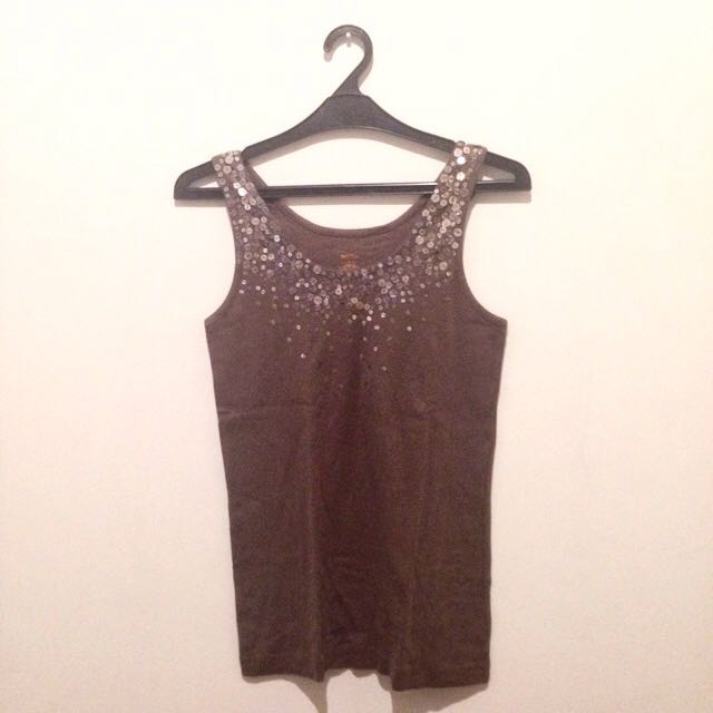 Mossimo Sequin Tank Top