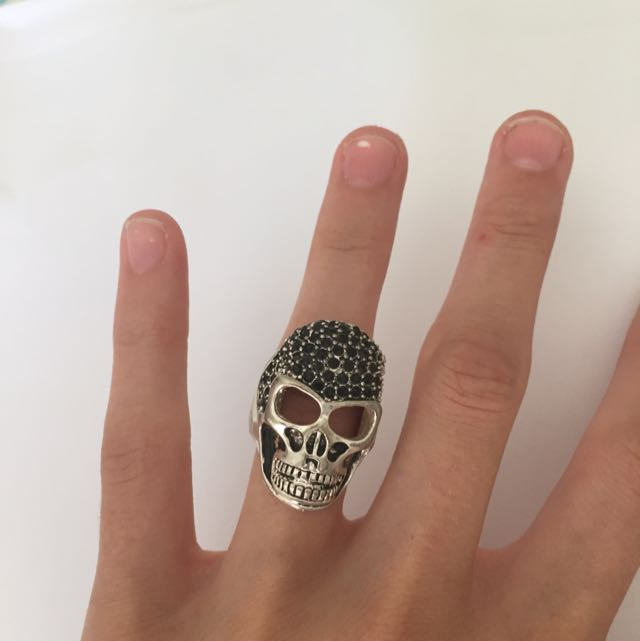 Skull Ring - Adjustable
