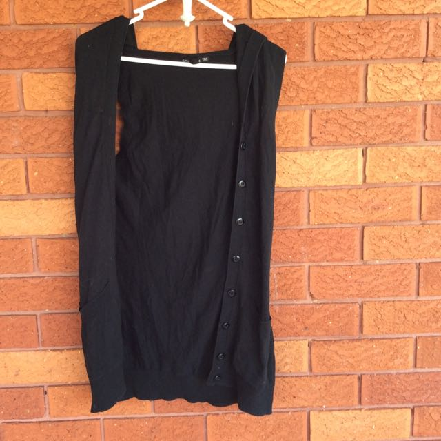 Sportsgirl Sleeveless Long Vest