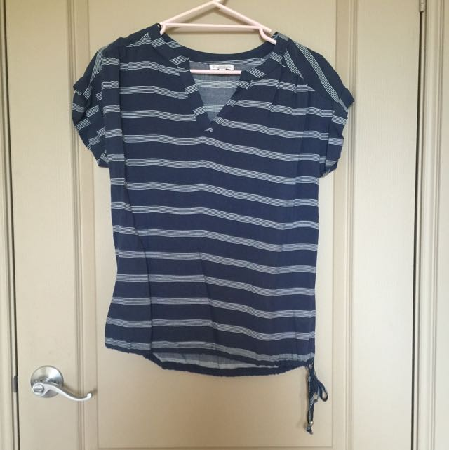 Target Striped Blouse   Size 6