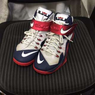 Nike Lebron zoom soldier 8 Team USA Basketball Shoes