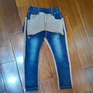 韓國造型牛仔褲