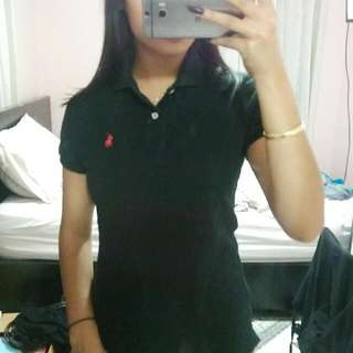 Small Black Ralph Lauren Polo Shirt