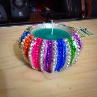 Colourful Candle