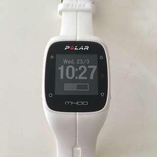 Polar M400 (White) With HRM