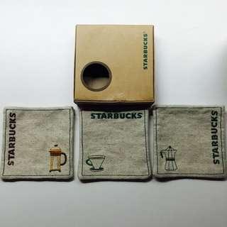 Starbucks 絕版麻布杯墊