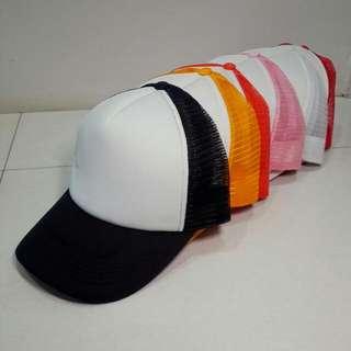 網帽/單排扣/各種顏色/帽子/