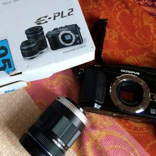 (NEGO) Mirorless Olympus Pen E-PL2 Double Zoom Kit (14-42mm + 40-150mm)