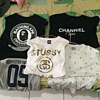 夏季衣服出清特價中 ape ssur Chanel taki Stussy reputation