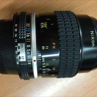 Nikon 55mm F2.8 Micro Ais