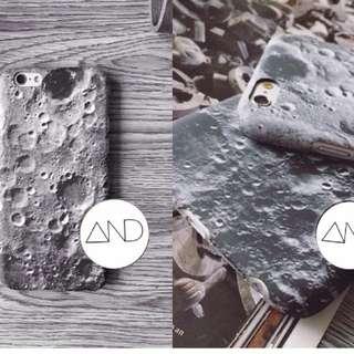 月球表面磨砂硬殼