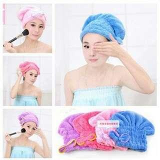 Microfiber towel Cap