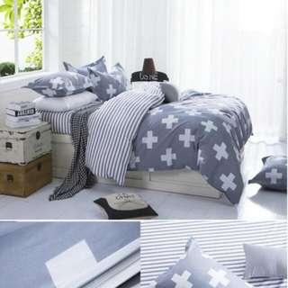 雙人標準床包四件組