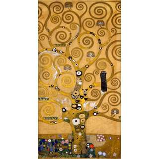 TO CLEAR !!! Klimt inspired artwork in oil over canvas