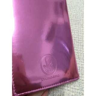 DAZZLING 桃紅色護照套
