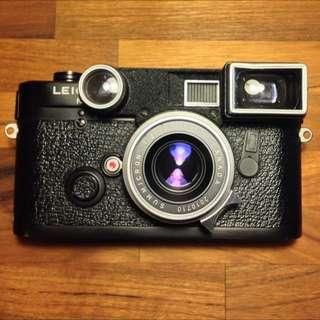 Leica M6 non-ttl + Summicron 35mm F2 眼睛八枚