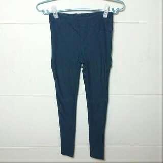 藏青色鉛筆褲 內搭褲