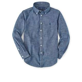 預購 Polo Ralph Lauren 襯衫 牛仔
