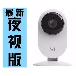 【現貨】小米 小蟻攝影機夜視版 手機遠端連線 官網正品 WIFI網路監視器 智慧監控 錄影機 攝像機 小米盒子多螢幕