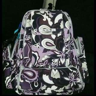 JUJUBE Paisley diaper bag backpack