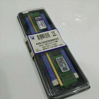 Kingston 2G Desktop RAM DDR3 1333MHZ KVR1333D3S8N9/2G