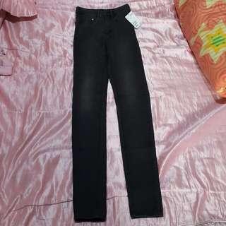 全新H&M黑長褲