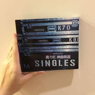魔力紅singles