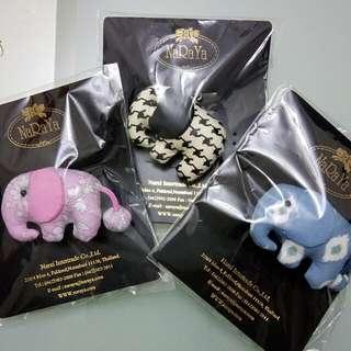 NaRaYa大象鑰匙圈