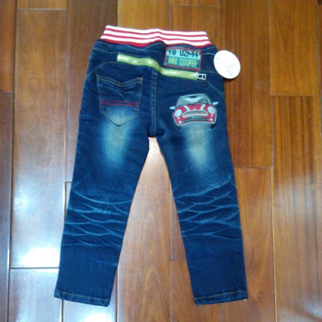 車車造型牛仔褲,原價890購入