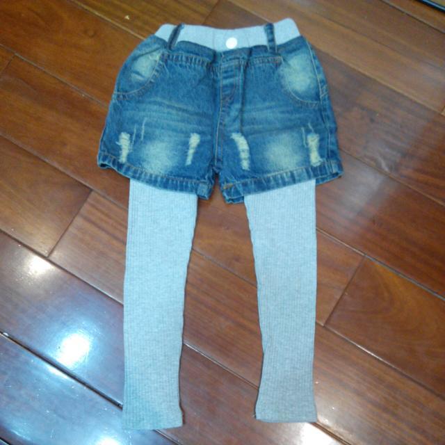 假兩件牛仔褲