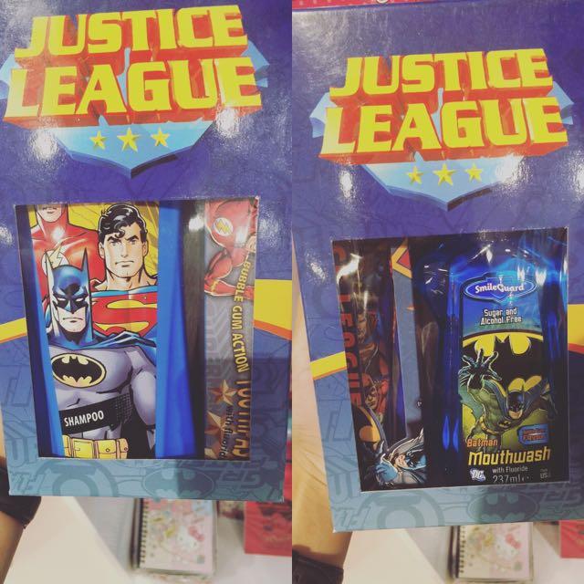 人生勝利組漱口水 牙膏 超人 蝙蝠俠 蜘蛛人