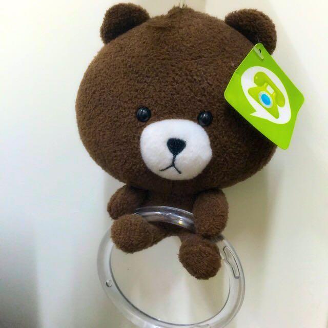 熊大 可掛毛巾 擦手巾