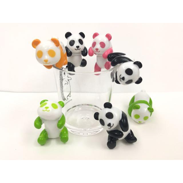 扭蛋 杯緣子 熊貓