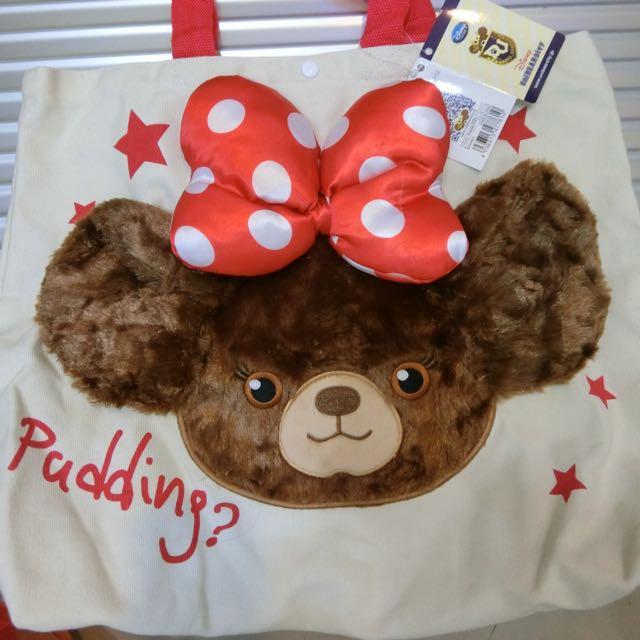 迪士尼大學熊 立體托特包帆布包 ✨免運✨