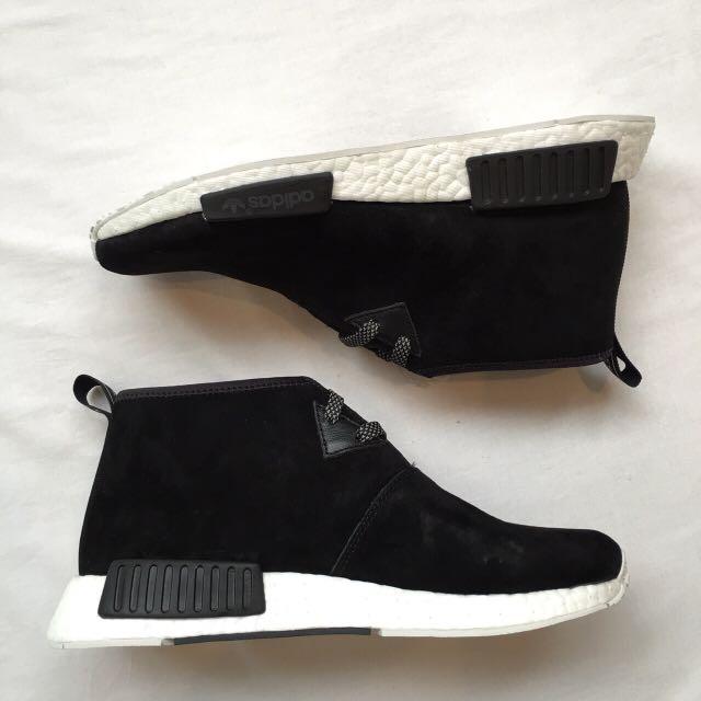 全新 Adidas NMD Chukka Black/chalk