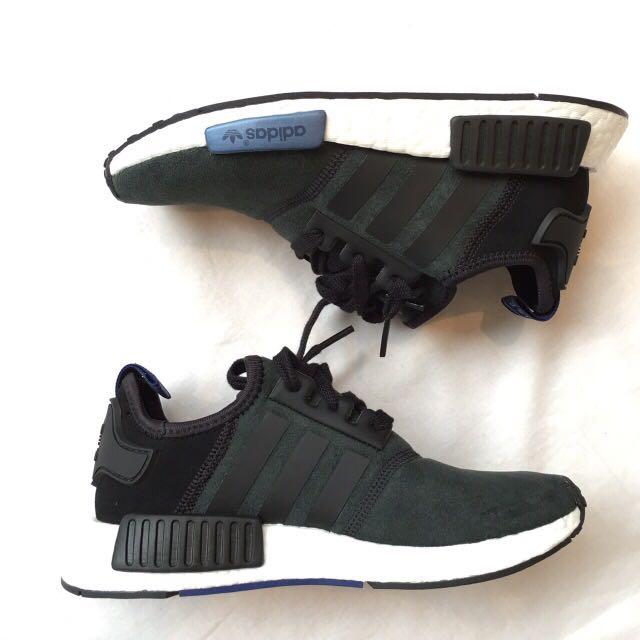 全新 Adidas NMD Runner Black/Blk/Slvr US5號Sold Out