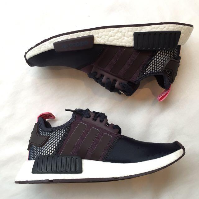 全新 Adidas NMD Runner WMN Black/Blk/Slve US6 Sold Out
