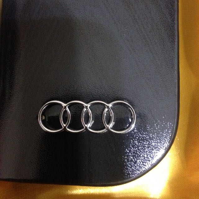 奧迪 AUDI 遙控器鑰匙包 真皮