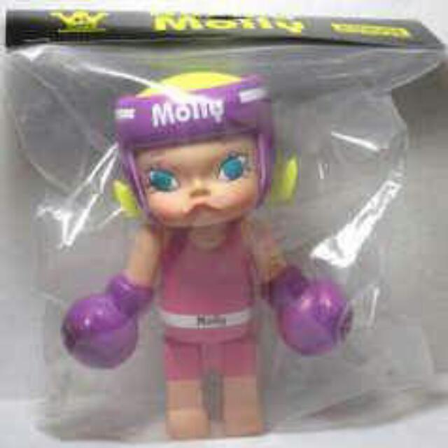 【徵】 Kennyswork Molly 拳擊手 紫或金色