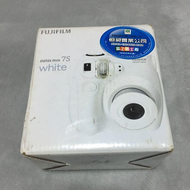 拍立得 Mini S7 白色(暫售)
