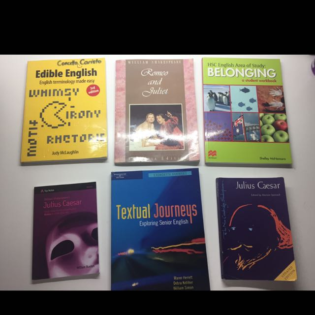 $10 ENG/HIST/PDHPE/GEO/SCI Textbooks!!