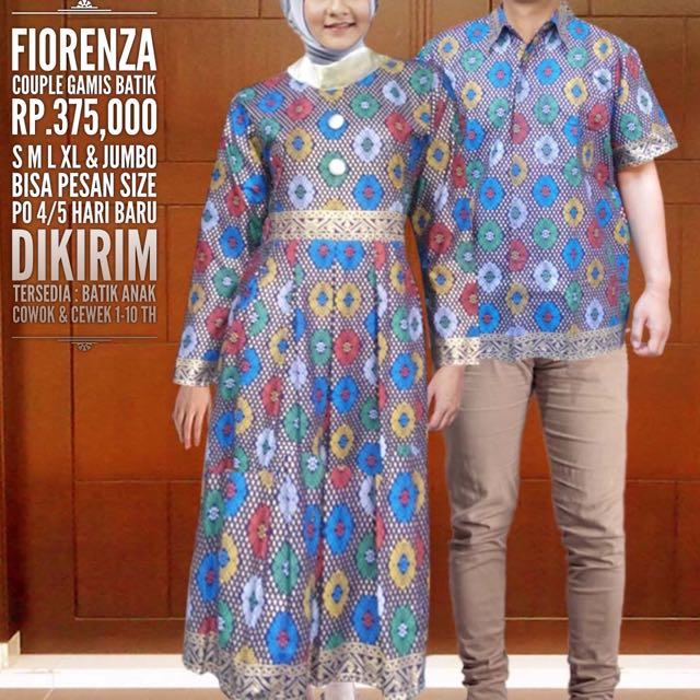 Fiorenza Couple Gamis Rp 375 000 On Carousell