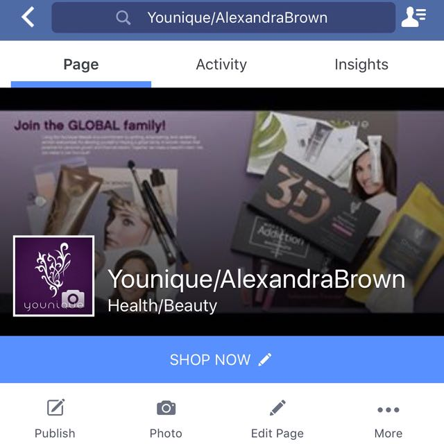 Follow My Facebook Business Page