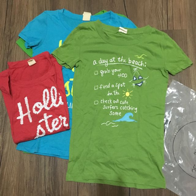 Hollister Xs綠色